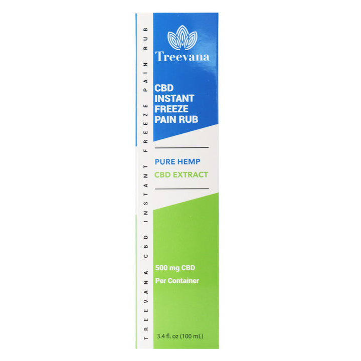Treevana CBD Instant Freeze Pain Rub - 500mg