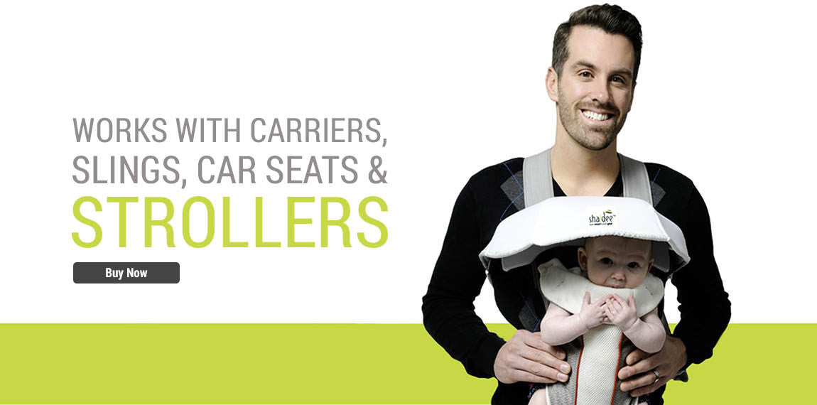 Works with Carriers, Slings, Car Seats and Strollers