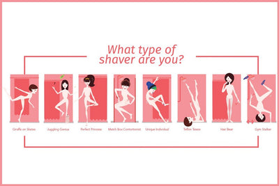 What type of shower shaver are you?