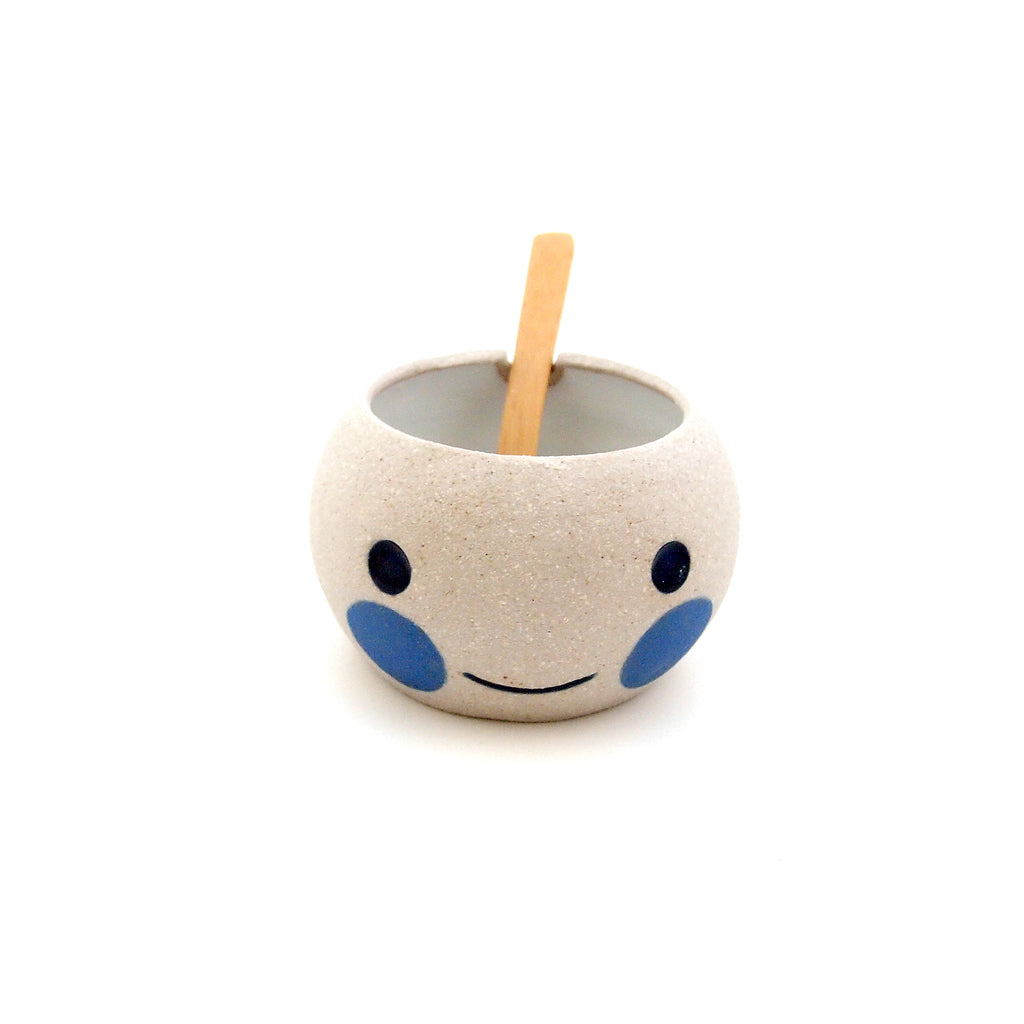 Blue Beastie with Bamboo Spoon