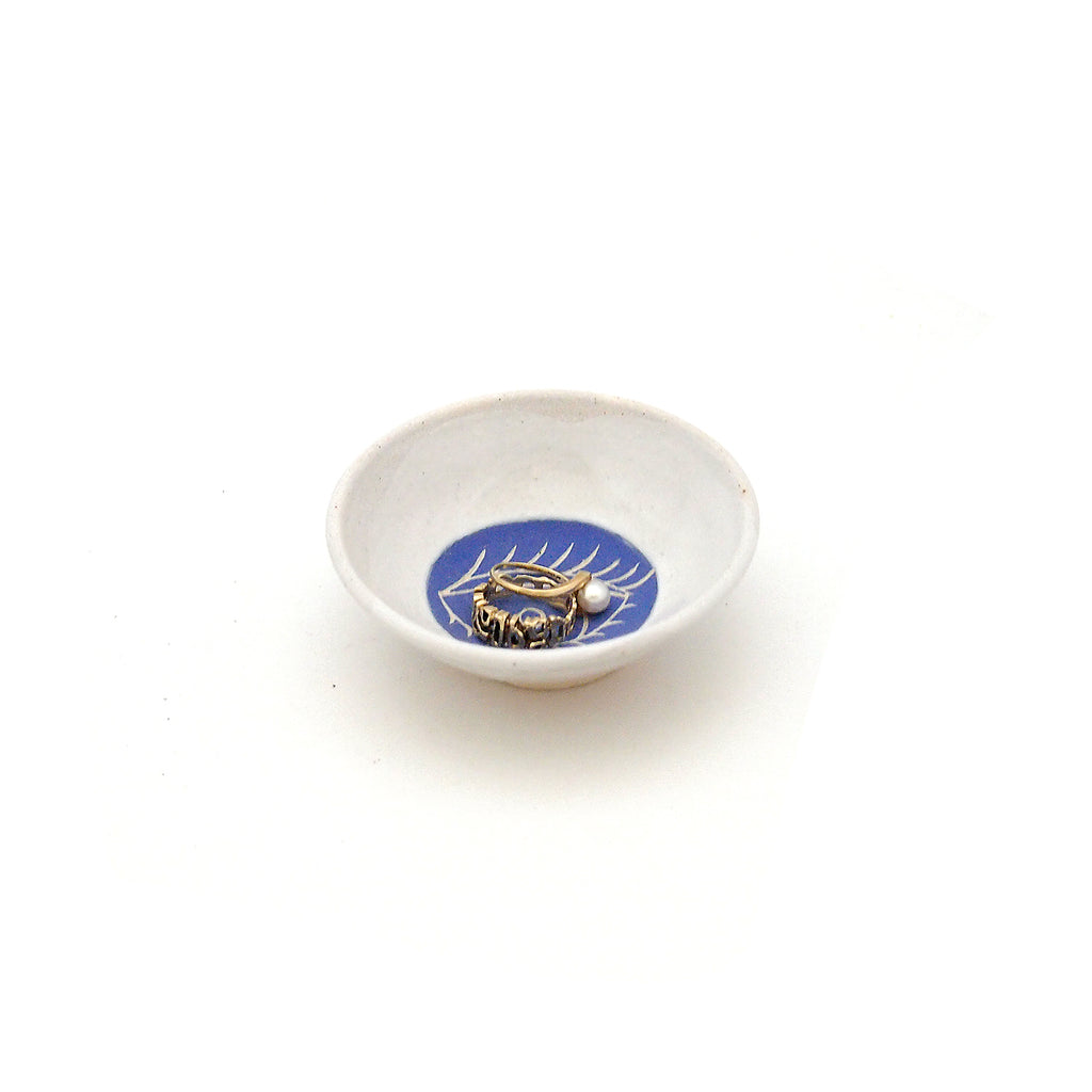 Blue Eye Ring Dish
