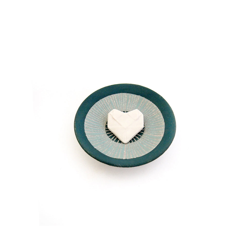 Ring Dish and Origami Heart Set