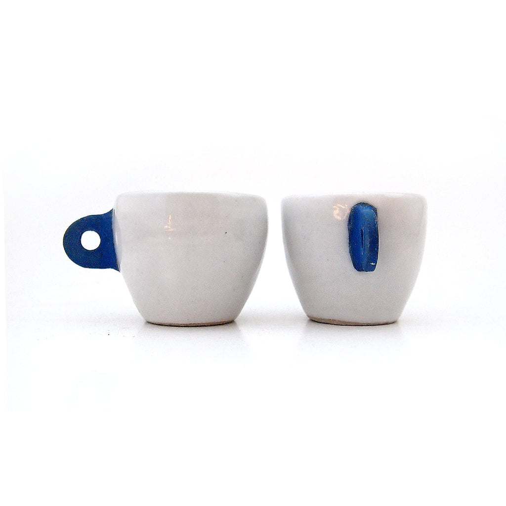 Espresso Set, Medium Blue