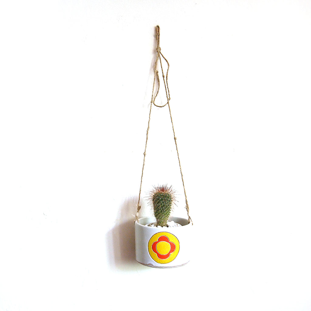 Flower Power Hanging Planter