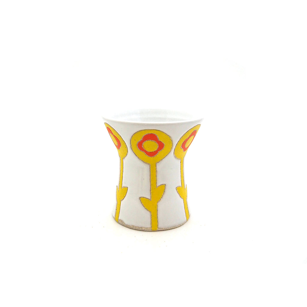 Flower Power Cinched Vase
