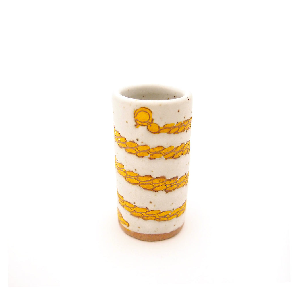 Gold Chain Bud Vase