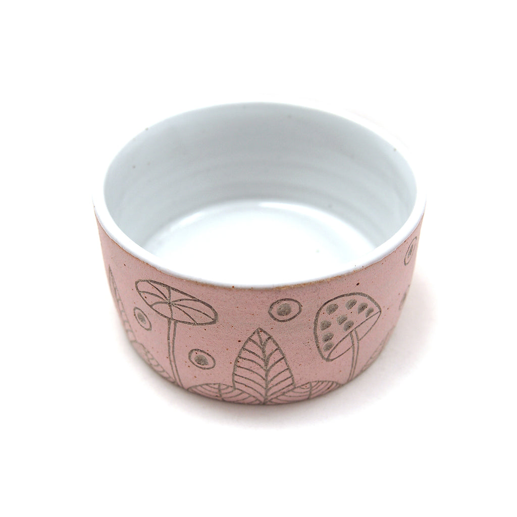 Pink Woodland Bowl, Small