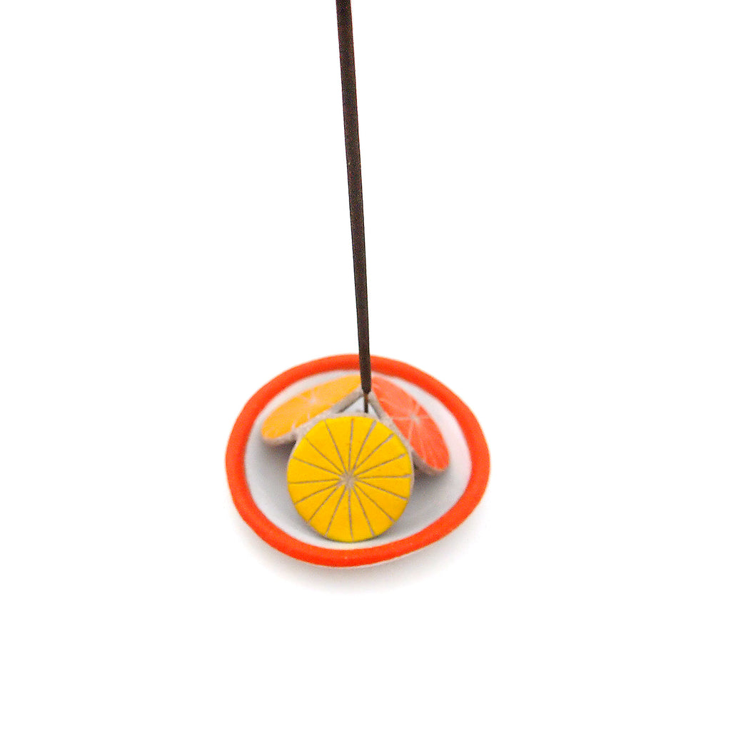 Pinwheel Incense Tent and Bowl