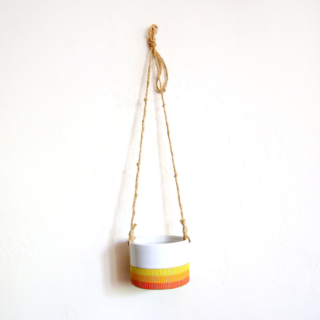 Sunrise Hanging Planter