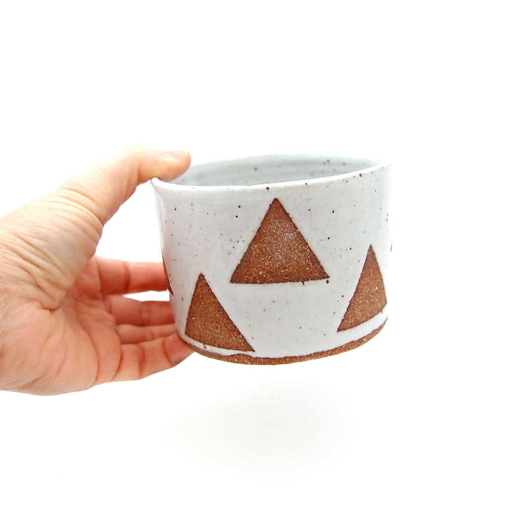 Triangle Pattern Planter/Bowl