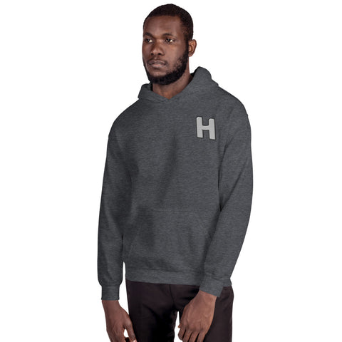 Embroided H-Hoodie
