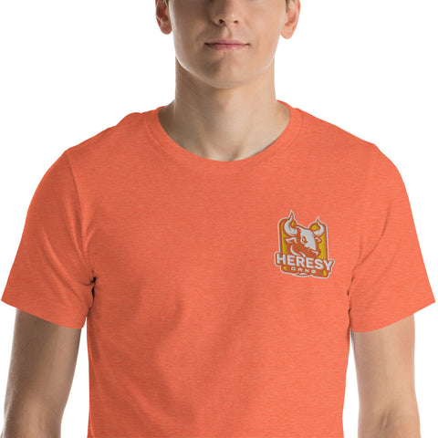 Heresy Orange t-paita