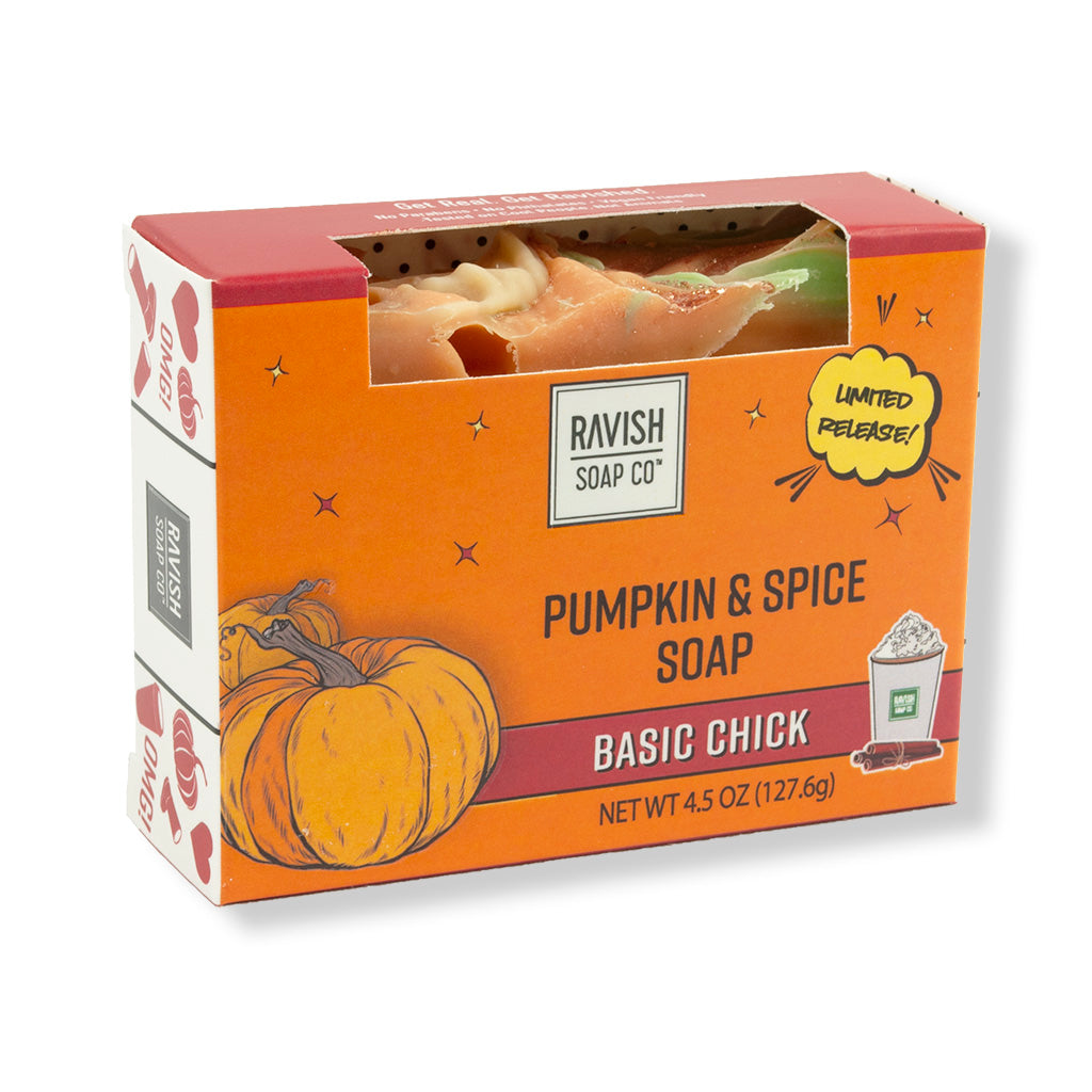 Basic Chick Pumpkin and Spice Soap Ravish Soap Company