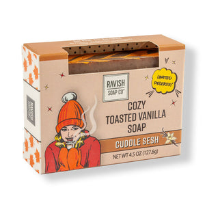 Cuddle Sesh Toasted Vanilla Soap Ravish Soap Company