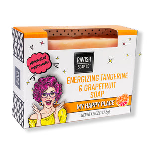 My Happy Place Tangerine Grapefruit Soap Ravish Soap Company
