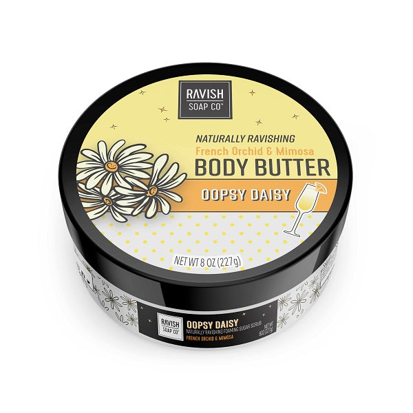 Oopsy Daisy French Orchid and Mimosa Body Butter Ravish Soap Company