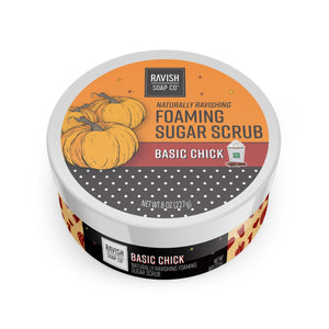 Basic Chick Pumpkin and Spice Foaming Sugar Scrub Ravish Soap Company