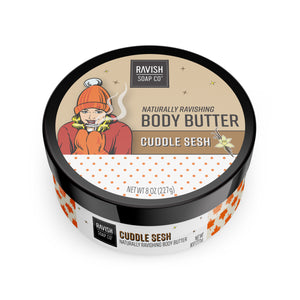 Cuddle Sesh Toasted Vanilla Body Butter Ravish Soap Company