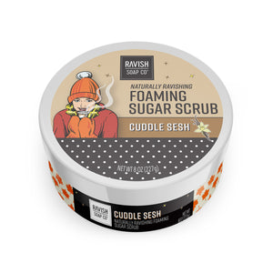 Cuddle Sesh Toasted Vanilla Foaming Sugar Scrub Ravish Soap Company