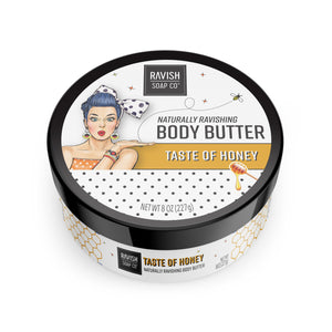 Taste of Honey Honey Almond Body Butter Ravish Soap Company