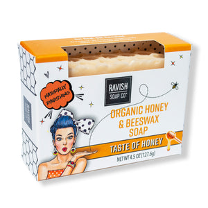 Taste of Honey Honey Almond Soap Ravish Soap Company