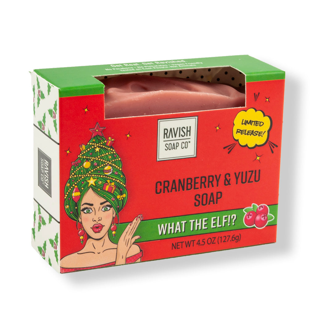 What The Elf Cranberry and Yuzu Soap Ravish Soap Company