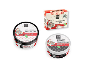 Naughty List Three-Fer Gift Set Ravish Soap Company