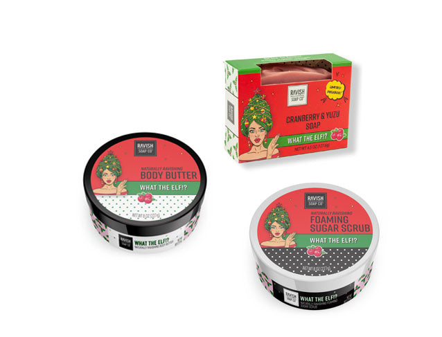 What The Elf Three-Fer Gift Set Ravish Soap Company