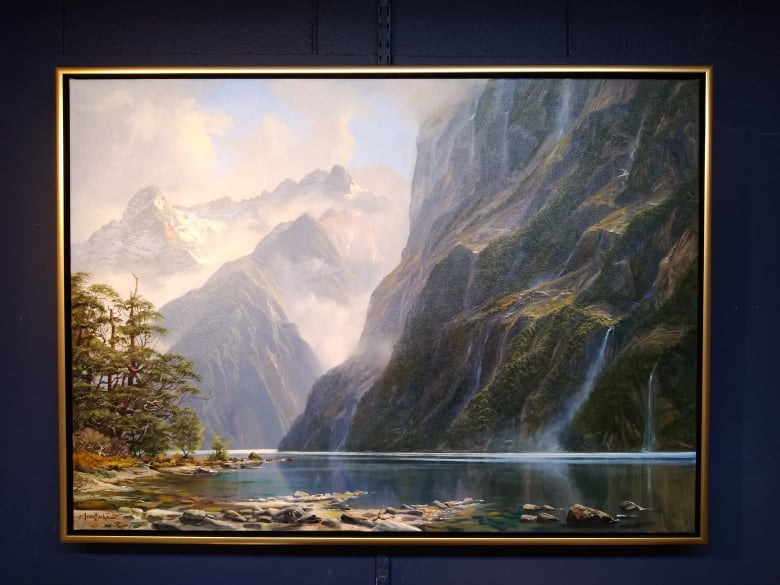 Ivan Clarke. Hall Arm, Doubtful Sound
