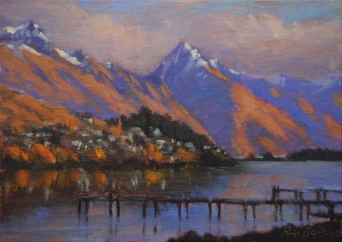 Philip Beadle-Walter Peak from Frankton Autumn