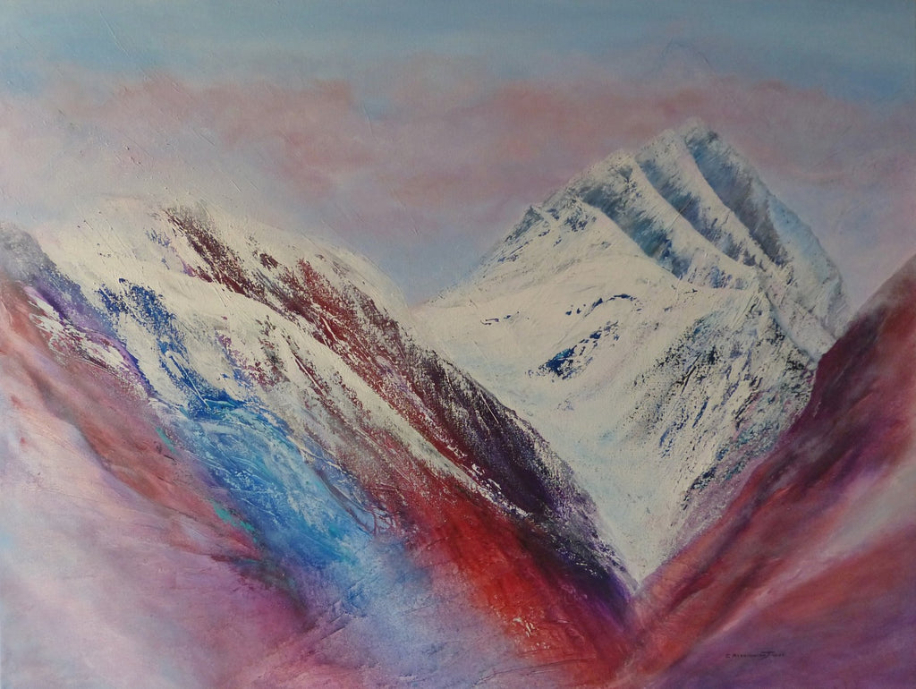 Clare Riddington Jones Misty Mountain series, The Glow of Sunset.