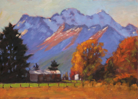 Philip Beadle-Autumn under Mount Earnslaw