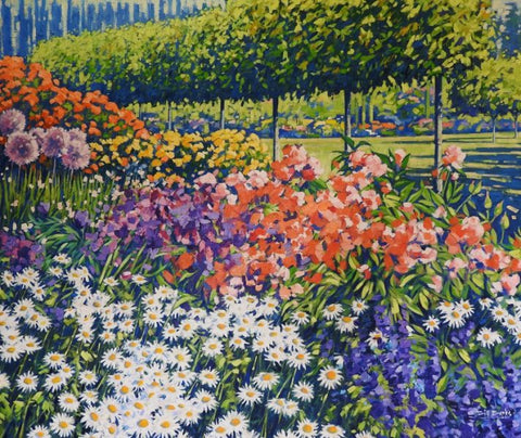 Bill Burke-Colour in the Garden