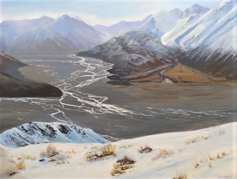 Deborah Lambert-Uplifted. Confluence of Havelock and Clyde River.