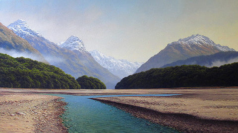 Mark Rodgers- Early Morning, Dart River