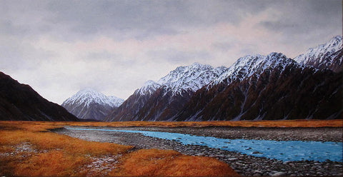 Mark Rodgers-Evening Tasman Valley