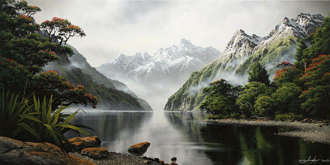 Dale Gallagher-Fiordland Adventure day 1.