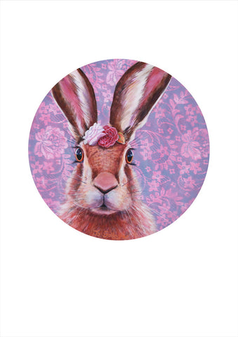 Jo Gallagher-Flowers in my Hare