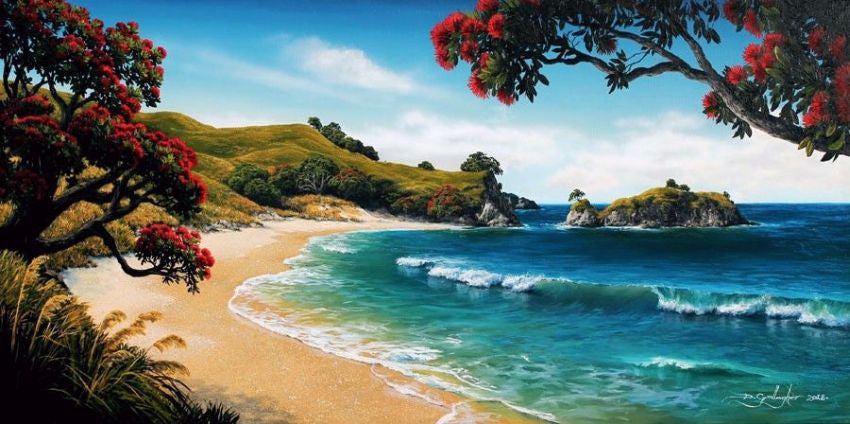 Dale Gallagher- Great Barrier  Pohutukawa