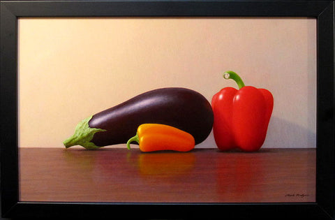Mark Rodgers-Aubergines and Pepper