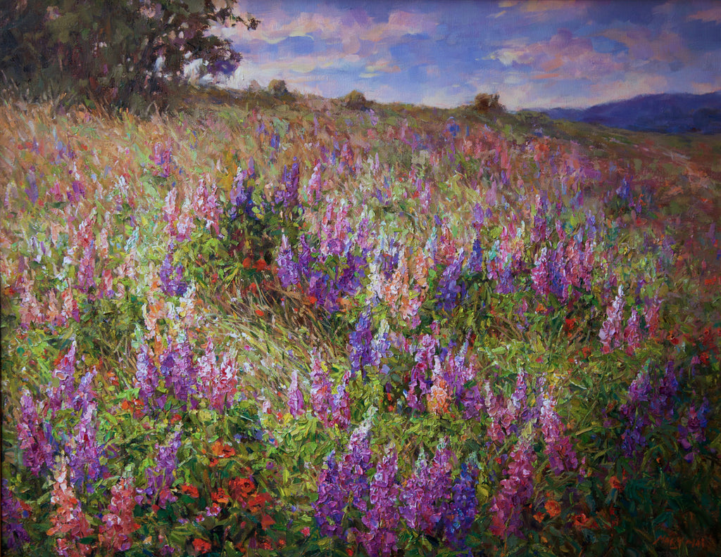 Mary Mai-Hills of Lupines