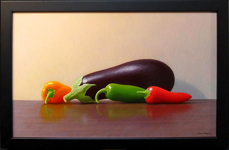 Mark Rodgers-Aubergine with Peppers