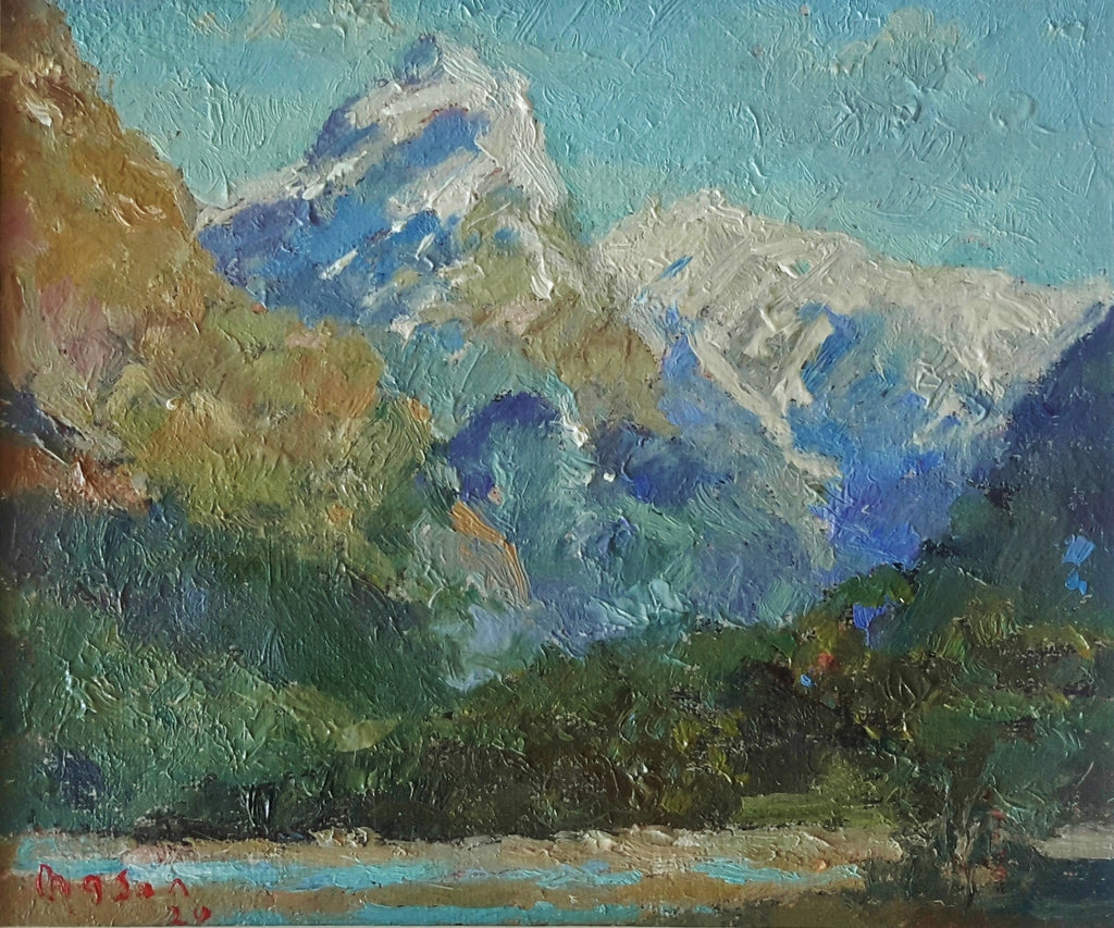 Malcolm Mason-The Dart River.