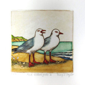 Mary Taylor- Red Billed Gulls