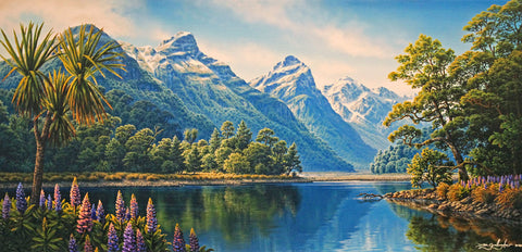 Dale Gallagher- Hand Embellished Giclée-Paradise Glenorchy