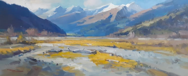 Richard Robinson-Rees Valley of Gold