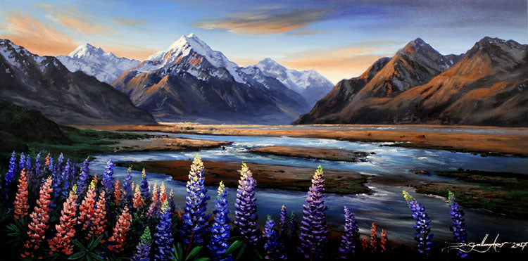 Dale Gallagher-Tasman lupins