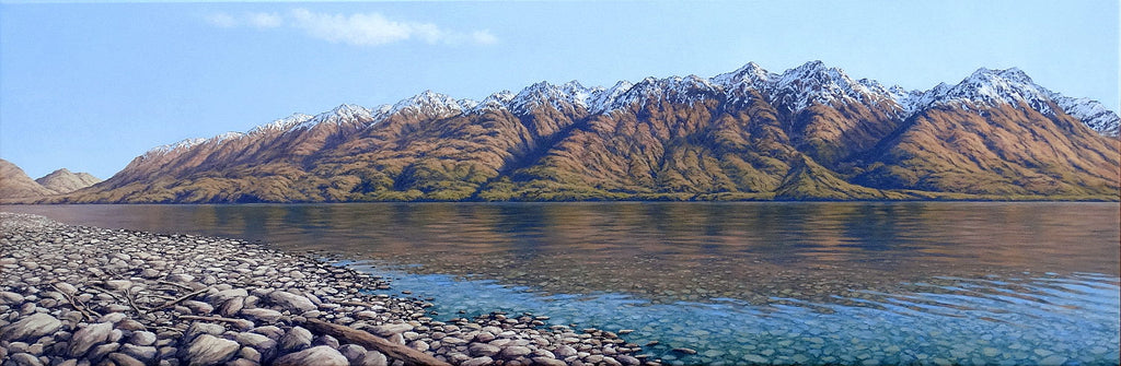 "Mark Rodgers-""Thomson Mountains, Lake Wakatipu"""