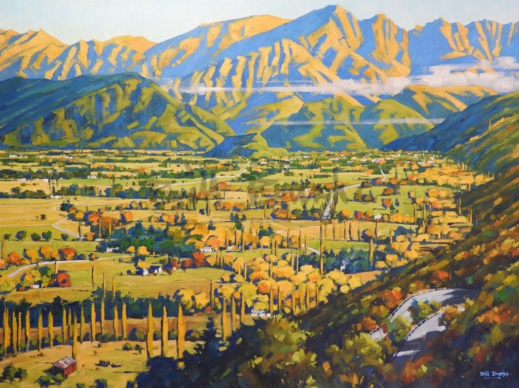 Bill Burke- A view towards Arrowtown