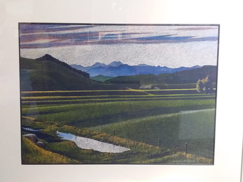 Wayne McPhail-After the rain, North Canterbury